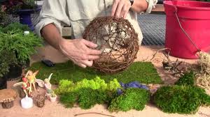 Garden Sphere Balls How To Plant A Willow Fairy Sphere With Plants Part 1 Youtube
