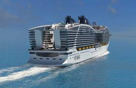 cruise ship the world new rendering video of future msc world class cruise ship
