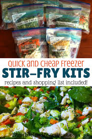 how to make healthy and delicious freezer stir fry kits humble