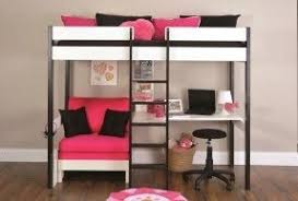 Loft Bed With Futon And Desk Loft Beds With Desk And Futon Foter