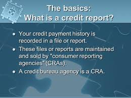 trw credit bureau your credit report understanding the puzzle ppt