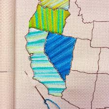 Map Pattern Raising Up Rubies Blog A Little Shop Update Stitch The States