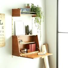 floating desk shelf wall desk ideas that are great for small