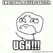 Crying Meme Generator - emotional rollercoaster ugh crying meme meme generator