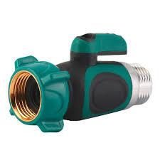 Indoor Faucet To Garden Hose Connector - 3 4 inch garden hose 1 way shut off valve water pipe faucet