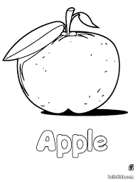 apple coloring pages drawing for kids reading u0026 learning