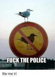 Fuck The Police Meme - fuck the police fite me irl fuck the police meme on me me