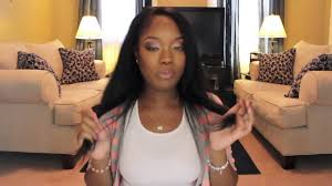 pics of black woman clip on hairstyle natural black clip in hair extensions for black women youtube