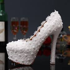 wedding shoes canada white lace wedding shoes bridal pearl bridal