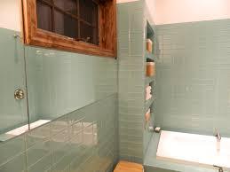 Glass Tile Bathroom Designs Glass Tile Bathroom Subway Tiles Bathroom Designs I Think This