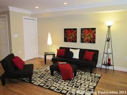 Red And Black Living Room by Black N White And Red All Over My Living Room Favorite Places