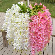wholesale artificial flowers wholesale plants wisteria hang silk flowers artificial vine flower
