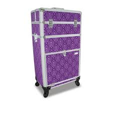 mamba nail technicians case imperial purple nail cases nails
