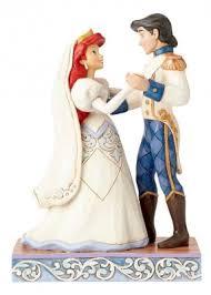 pre order wedded bliss ariel and eric wedding figurine jim