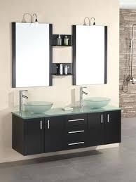 glass top vanity table glass top vanity double vessel sink vanity glass top small glass top