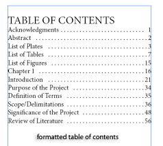 what does table of contents mean creating a simple table of contents in indesign cs5 indesigntutorials