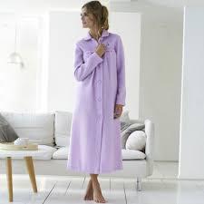 robe de chambre en courtelle femme peignoir uni maille courtelle blancheporte