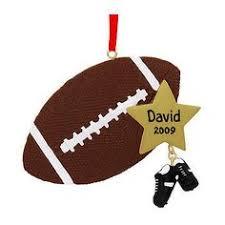 sports ornaments personalized baseball soccer football custom