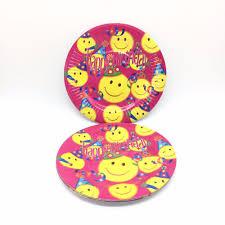 vaisselle jetable fete sourire visages d u0026 39 animaux achetez des lots à petit prix