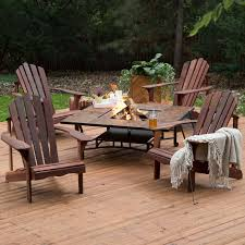 Firepit Patio Table Pit Benches Gas Clearance Propane Table Set With Backs