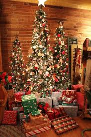 Decorate With Christmas Cards Stunning Slim Christmas Tree Decorating Ideas Christmas Celebrations