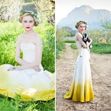 18 colorful wedding dresses for the non traditional bride brit co