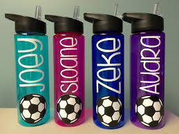 soccer gifts soccer water bottle water bottle with name