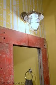 how to make a wood framed mirror east coast creative blog