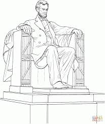 lincoln coloring pages coloring download lincoln memorial coloring page abraham lincoln