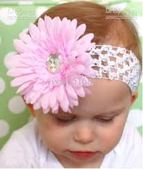 crochet baby headband crochet band hair bands hairpin baby hair bow