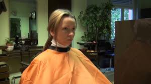 punishment haircut to a barberette story images pinterest