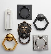 Unique Door Knockers by Hexagon Door Knocker Rejuvenation