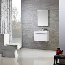 cypher designer white gloss wall hung vanity unit 600mm