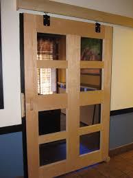Sliding Barn Style Door by Glass Barn Doors Interior Image Collections Glass Door Interior