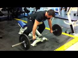 Bench Barbell Row Chest Support Barbell Row M4v Youtube
