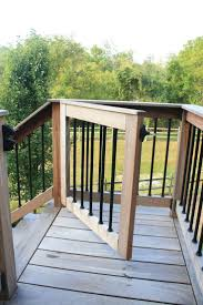 Ideas For Enclosing A Deck by Best 25 Deck Stairs Ideas On Pinterest Deck Railings Outdoor