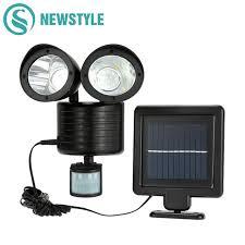 Motion Sensors For Lights Outdoor Newstyle 22leds Led Solar Light Pir Motion Sensor