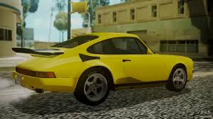 porsche ruf yellowbird ruf ctr yellowbird 1987 for gta san andreas