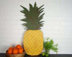 Pineapple Home Decor Pineapple Kitchen Etsy