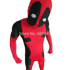 deadpool halloween costume party city deadpool halloween mask headwear cosplay spandex hoodie