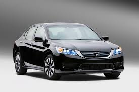 honda car black how the 2014 honda accord hybrid drives without a transmission