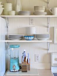 diy kitchen shelves open kitchen shelving diy