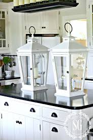 brighten up your kitchen with white stonegable