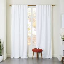 Ivory Linen Curtains White Linen Curtains Intended For Sheer 52 X84 Curtain