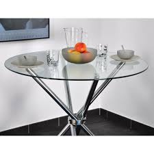 table de cuisine ronde en verre table ronde verre extensible cheap table with table ronde verre