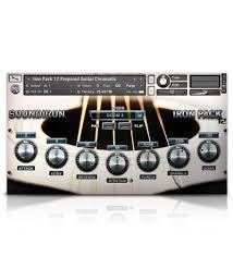 tutorial virtual guitar soundiron iron pack 12 acoustic guitar synth fx for kontakt sfz