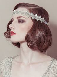 gatsby headband hairstyle headband vintage bridal headband great gatsby