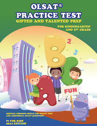 amazon com olsat practice test gifted and talented prep for
