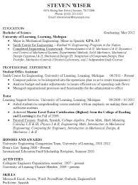 Resume Sample For College by 12 College Fresh Graduate Resume Samples Easy Resume Samples
