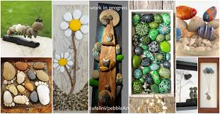 creativity ideas for home decoration 20 amazing stone crafts that will boost your creativity